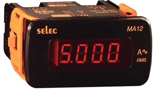 MA12 Series (LED Ampere Meters)