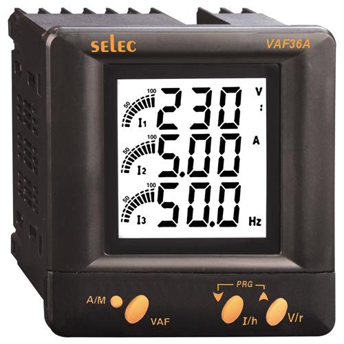 VAF Series (Volt-Ampere-Frequency Meters)
