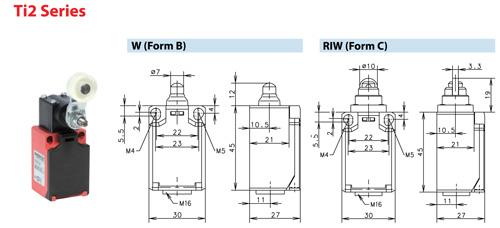 Ti2 Series RIW (Form C)