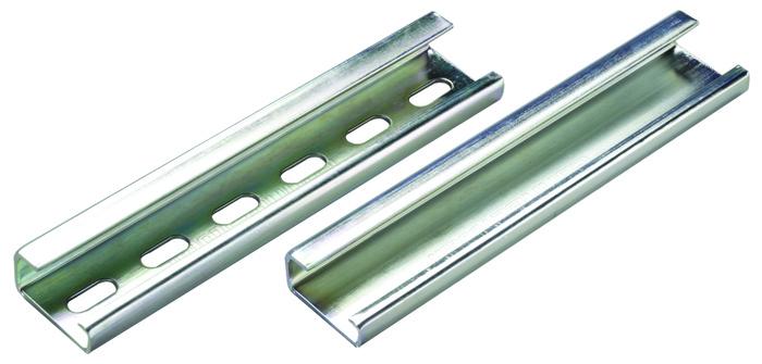 ALTECH 2511160/1M TS32 DIN Rail, Steel