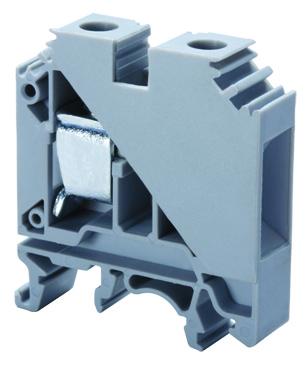 ALTECH CTS16U Feed-through term block 85A, 600V, 20-4 AWG, 12mm,gray