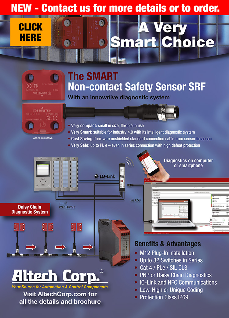 A;ltech Non-Contact Safety Sensor
