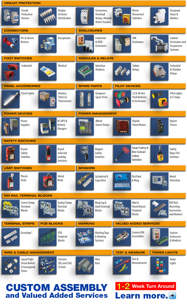 Altech Corporation Homepage A Supplier And Distributor Of Electronic There Are Often Circuits Where Two Different Types Fuses Fitted Body Products