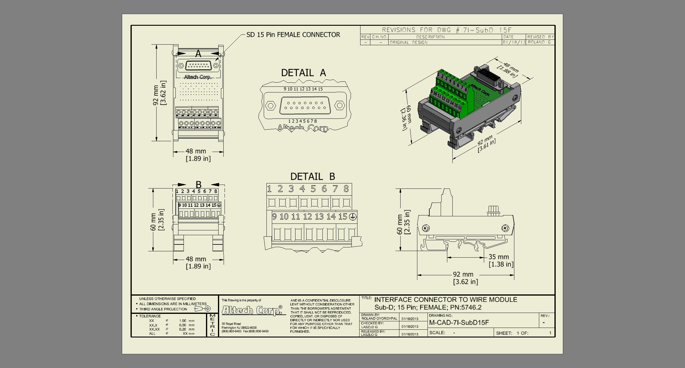 Interface Modules Relay Logic Wiring Pdf 15 Sub D Femalepdf